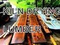 KILN DRYING LUMBER