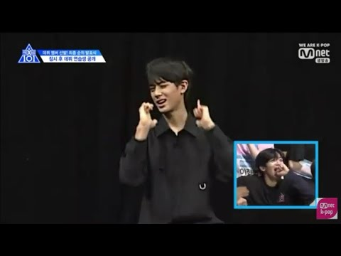 [PDX Final] 20 Trainee Reaction To Another Trainee When Audition Dance