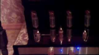 видео Однотактный ламповый усилитель на 6С41С, 6Э5П.