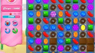 Candy Crush  Saga  Level 166 No Boosters
