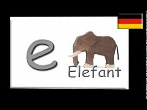 ABC German alphabet Song (Deutsches Alphabet) - YouTube flv