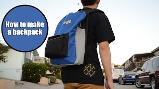 DIY: Jansport-Inspired Backpack Tutorial | From Scratch #23