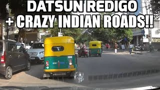DATSUN REDIGO VS CRAZY INDIAN ROADS