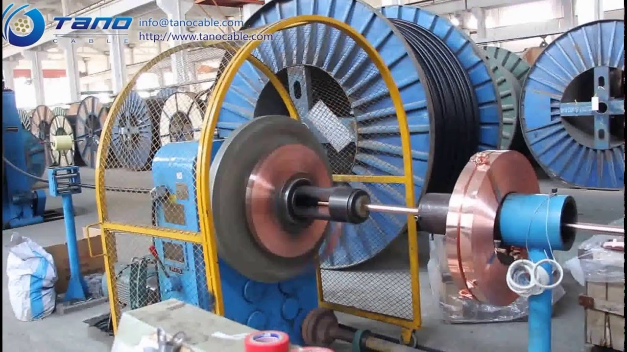 Tano Cable Manufacturing Process Wrapping Youtube
