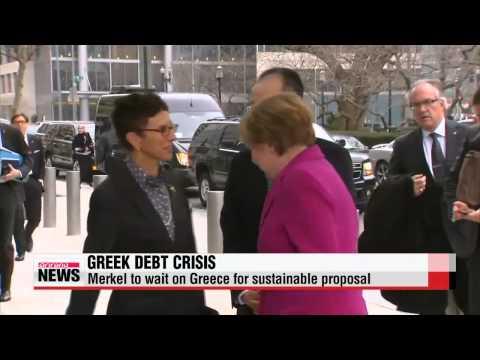 "Greek PM ′confident′ of producing new deal, Merkel to wait on Greece   치프라스 ""실패한"