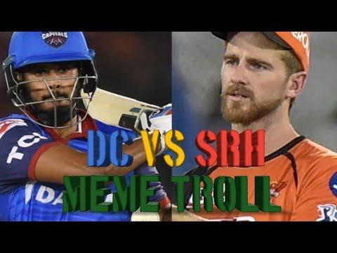 DC VS SRH | PLAY OFF MATCH | VIVO IPL HIGHLIGHTS | MEME TROLL | 2019 | 8TH  MAY | MR  KD TRENDING