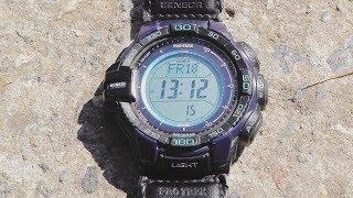 Обзор трекинговых часов Casio PRG-270-2D(Часы Casio ProTrek PRG-270B-2D. Отличная модель, все недостатки 110й серии исправлены. Я бы свои 110е на такие сменил. Саша,..., 2015-10-04T15:03:06.000Z)