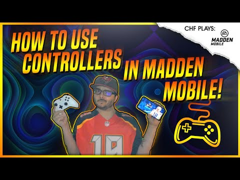 EVERYTHING YOU NEED TO KNOW ABOUT USING A CONTROLLER IN MADDEN MOBILE 20!