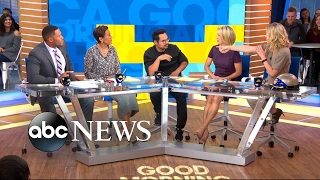 michael-pena-plays-tune-the-beat-around-game-with-the-gma-anchors