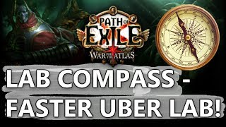 PoE LabCompass - Faster & Less Distracting Uber Lab Farming Demonstration!