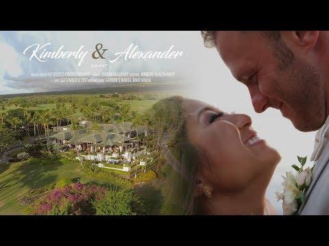 Maui Gannon's Wailea Wedding Film / Kimberly & Alexander