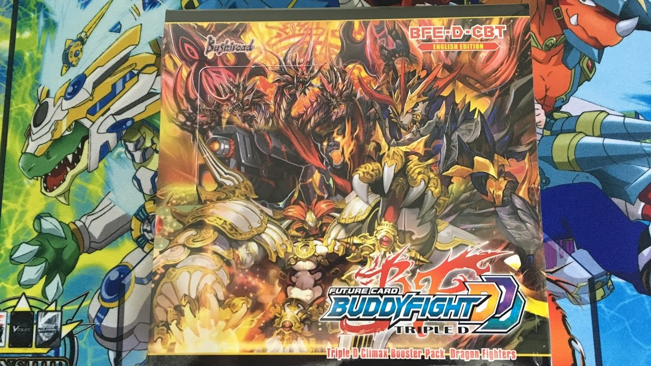 Opening Future Card Buddyfight Ddd Climax Booster Dragon Fighters