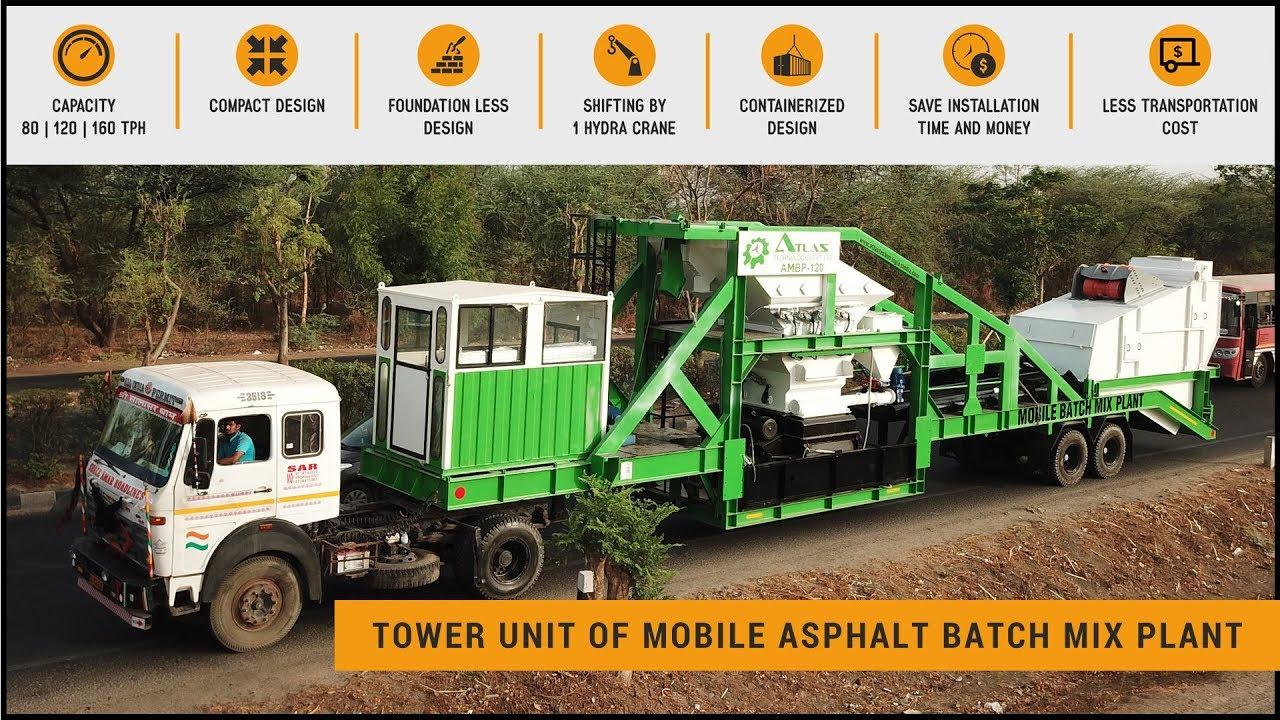 Mobile batch Plant - Asphalt Mixing Plant Price - Small Asphalt Plants