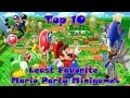 Top 10 Least Favorite Mario Party Minigames