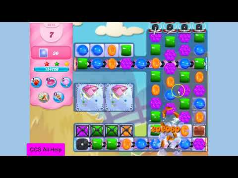 Candy Crush Saga Level 3215 15 moves NO BOOSTERS Cookie