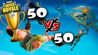 VICTORIAS EN *NUEVO MODO* 50 vs 50 FORTNITE: Battle Royale | Stratus
