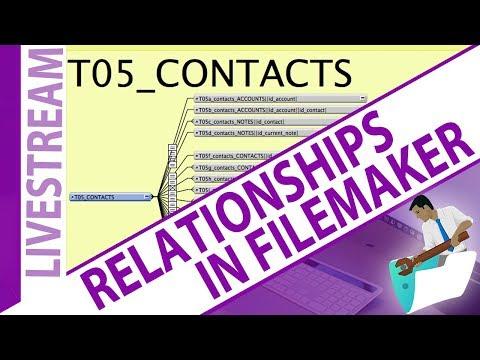 Relationships in FileMaker