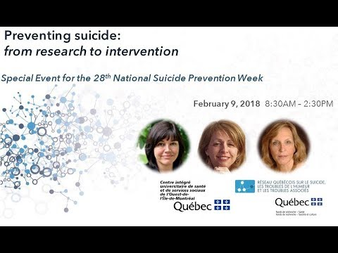 Barbara Stanley, PhD - Can brief interventions prevent suicide?