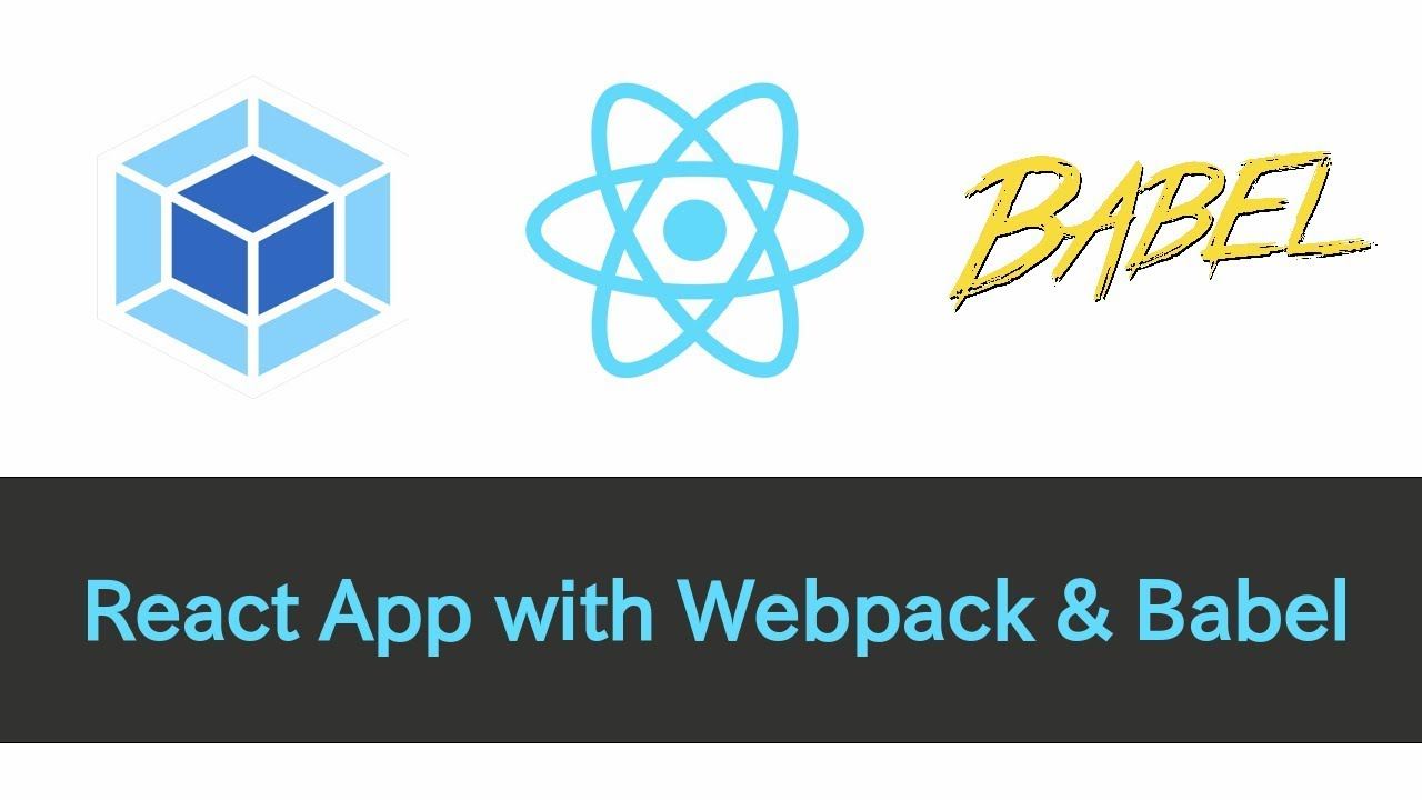 React App with Webpack & Babel (ES6+, source maps, hot reload, and more)