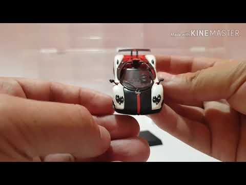 Diecast Uno64Zoom   5  Unboxing 7 Eleven Hypercar Collection
