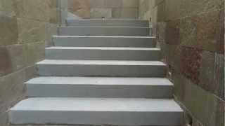 видео Выбор камня для облицовки лестницы