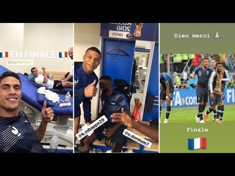 Coupe du Monde 2018 : Dans les vestiaires après le match, Mendy fait l'éloge d'Umtiti