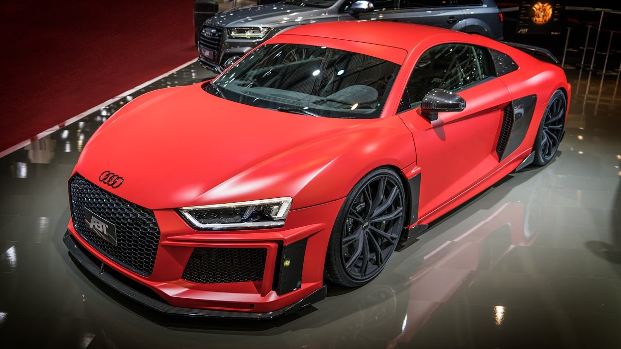 Abt Audi R8 V10 Plus Genfer Autosalon 2017 Youtube