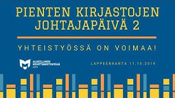 Tanja Kairimo ja Taru Tanska: Kokemuksia yhteistyöstä