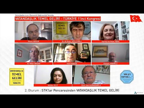 STK'lar Penceresinden VATANDAŞLIK TEMEL GELİRİ / VTG - TÜRKİYE 1'inci Kongresi