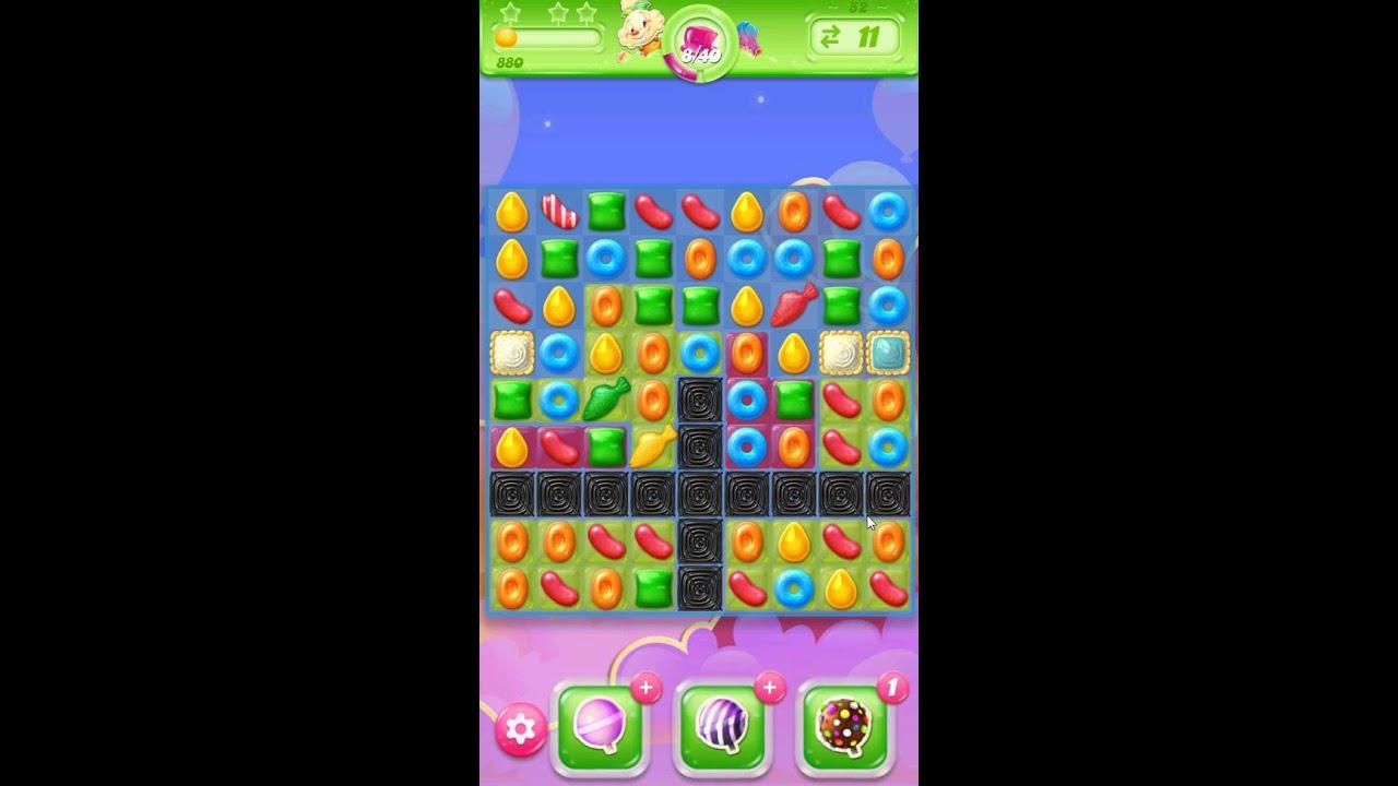 candy crush jelly saga level 52 cheats