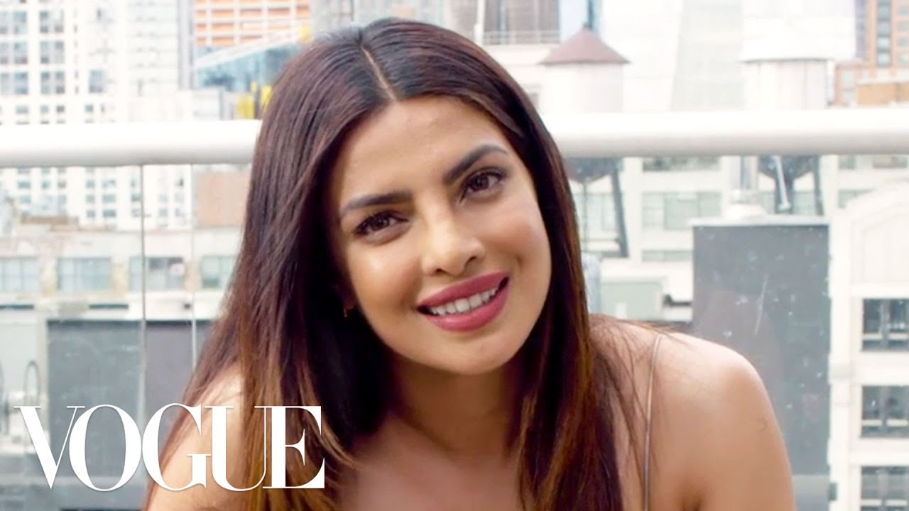 73 Questions With Priyanka Chopra | Vogue  #Trend