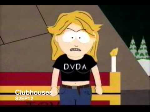 Mrs Cartman embaresses Cartman