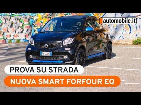 Smart ForFour EQ - Prova Su Strada