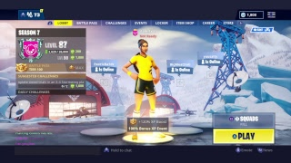 GIFTING SOCCER SKINS AT EVERY SUBGOAL // PS4 FORTNITE LIVE