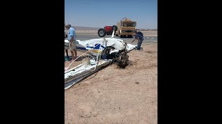 عاجل.. صور وفيديو.. اللحظات الأولى لسقوط طائرة خاصة بالجونة