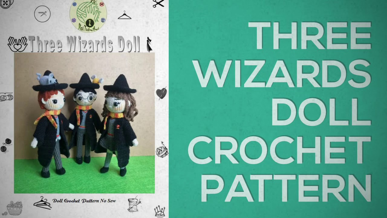 Amigurumi Harry Potter Crochet Dolls All characters | Potter heads ... | 720x1280