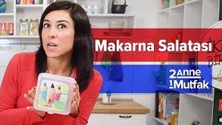 Sağlıklı Beslenme Çantası #5 - Balkabaklı Makarna Salatası | İki Anne Bir Mutfak