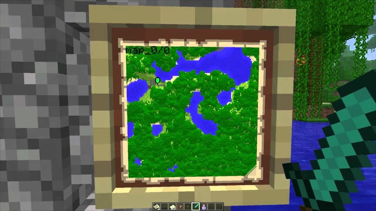 Minecraft 1 4 Wall Clocks Wall Maps Youtube
