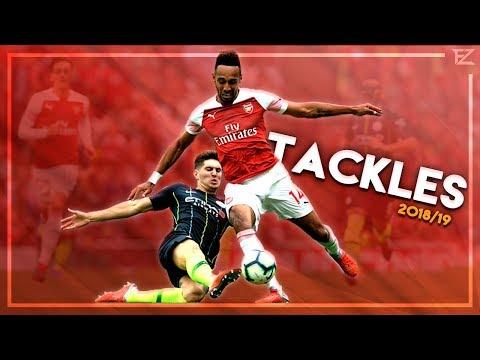 Amazing Tackles & Defensive Skills in Football ● 2018/19 - HD