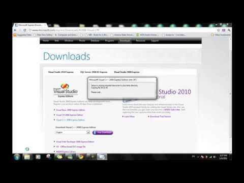 كيفية تحميل برنامج visual studio 2010