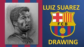 Drawing Luis Suarez (Fc Barcelona) - By Chami