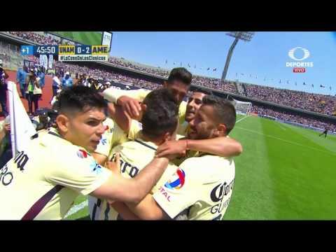 Resumen: Pumas 2-3 América - Clausura 2017 - Liga MX