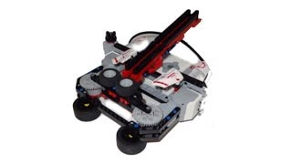 Lego Mindstoms ev3 Paper Plane Launcher