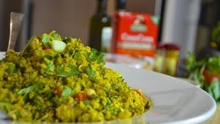 Couscous - Healthy Recipes - Superfood , Alkaline Based Couscous Salad
