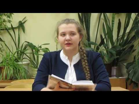 Изображение предпросмотра прочтения – АнастасияМеркушина читает произведение «Весь день она лежала в забытьи...» Ф.И.Тютчева