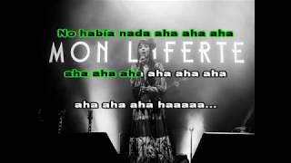 Karaoke Mon Laferte (Antes de ti)