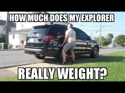 what-does-a-ford-explorer-sport-weigh?