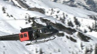Bell UH-1D Gebirgsflugtraining