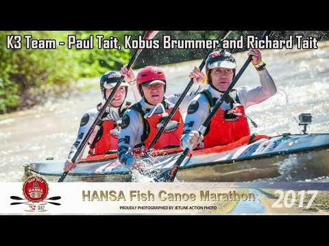 Hansa Fish Canoe Marathon 2017 - Day 1 - GoPro Footage