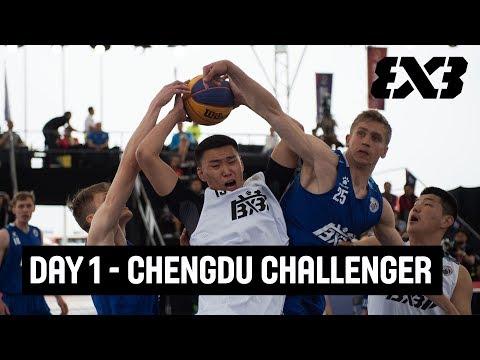FIBA 3x3 Chengdu Challenger 2018 - Day 1 - Re-Live - Chengdu, China
